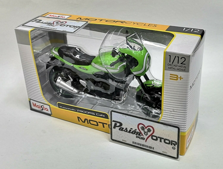 1:12 Kawasaki Z900RS Cafe 2018 Color Verde Moto Maisto Motorcycles