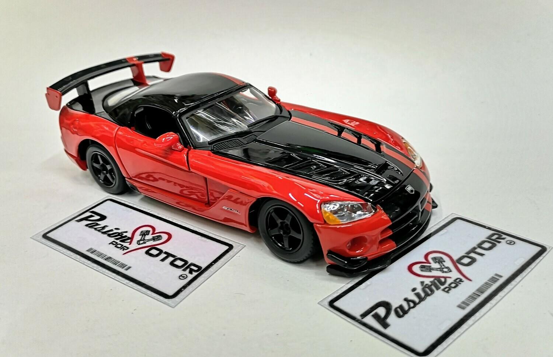 1:24 Dodge Viper SRT10 ACR 2008 Rojo Bburago En Display / A Granel