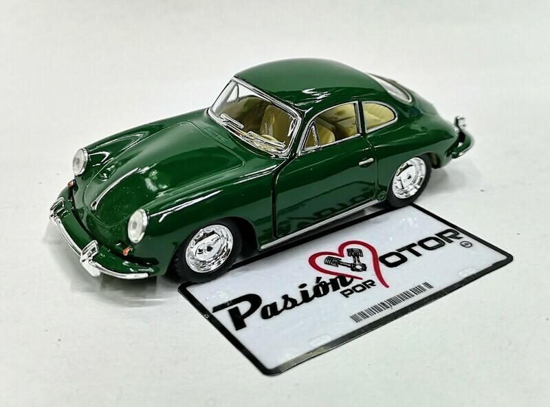 1:32 Porsche 356 B Carrera 2 1963 Verde Kinsmart En Display / a Granel