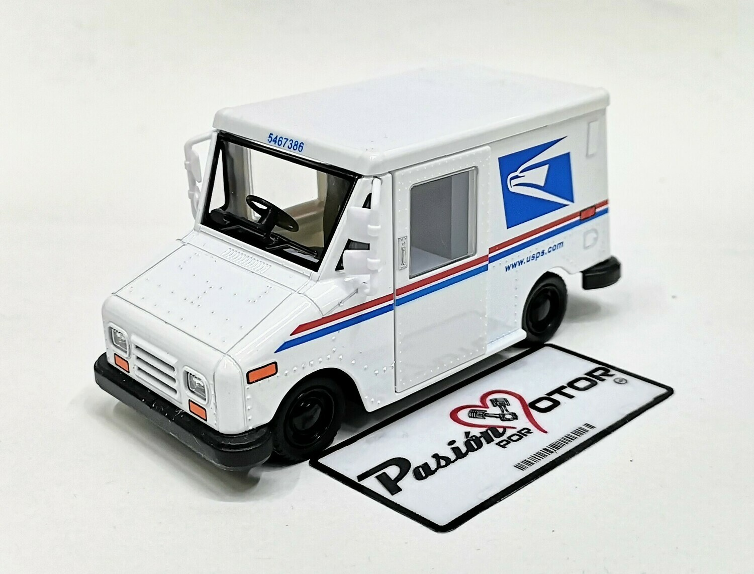 1:36 Grumman Long Life Vehicle 1987 USPS  Kinsfun En Display / A Granel 1:32