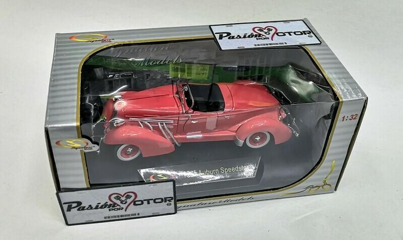 1:32 Auburn Speedster 1935 Coral Signature Models Carcacha C Caja
