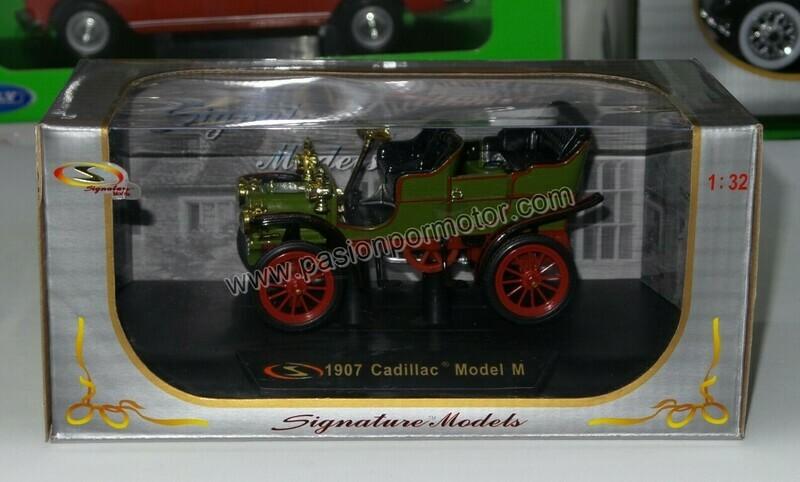 1:32 Cadillac Model M 1907 Verde Signature Models Carcacha C Caja
