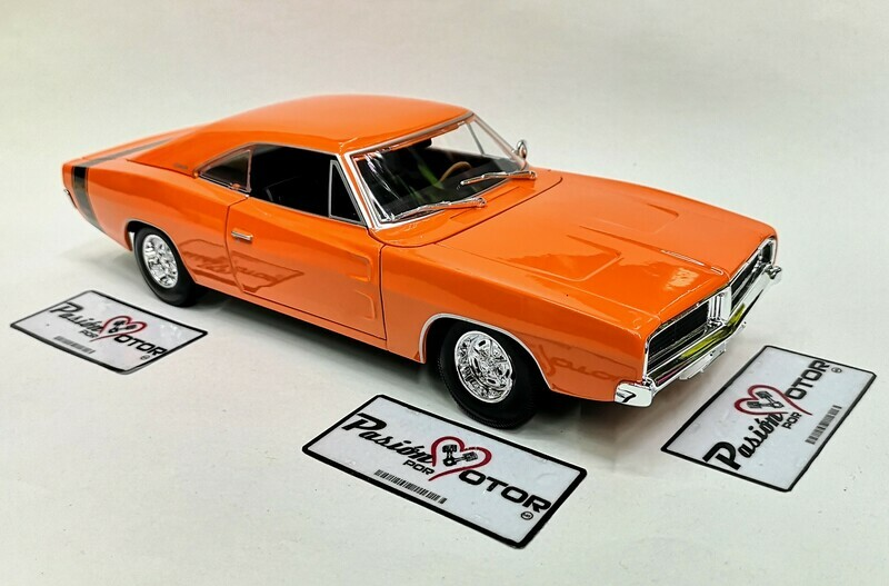 1:18 Dodge Charger R/T 1969 Naranja Maisto Special Edition