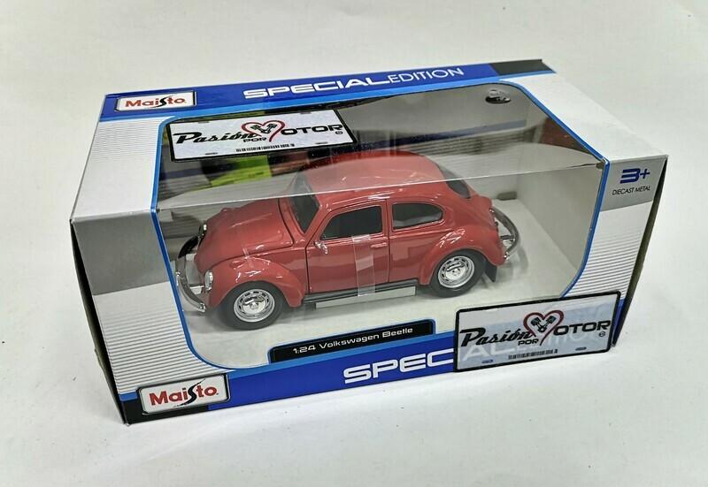 1:25 Volkswagen Beetle 1303 1972 Rojo Maisto Special Edition C Caja