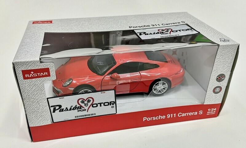 1:24 Porsche 911 Carrera S 2012 Rojo Rastar C Caja