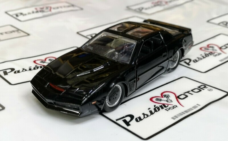 1:32 Pontiac Firebird Trans Am 1982 KITT Knight Rider Auto Increible Jada Toys Hollywood Rides En Display / A Granel
