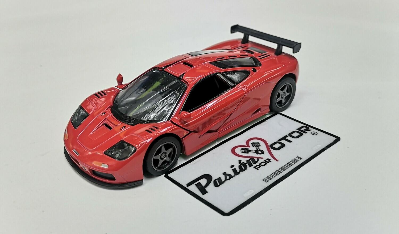 1:34 McLaren F1 GTR 1995 Rojo Kinsmart Display / A Granel