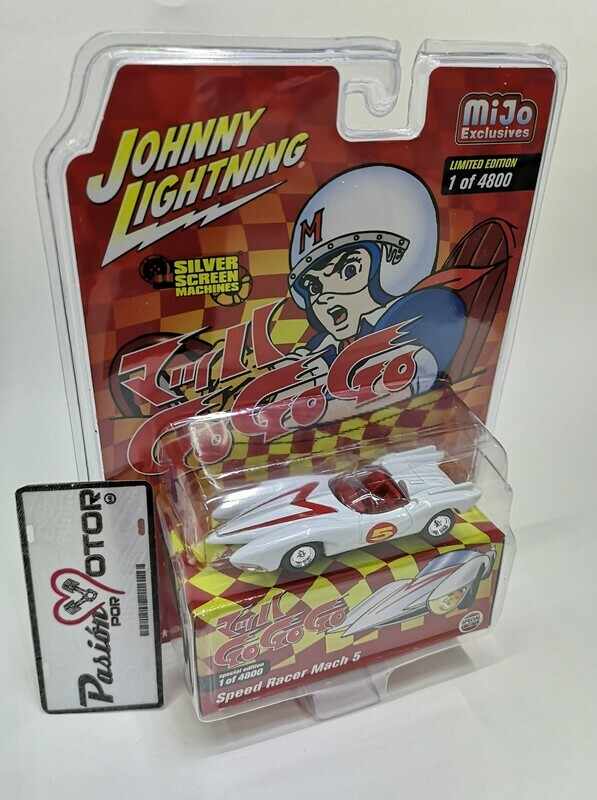 1:64 Mach 5 Speed Racer Johnny Lightning Meteoro