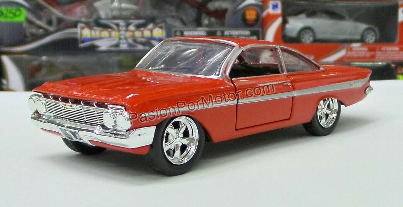 1:32 Chevrolet Impala Coupe 1961 Dom´s Jada Toys Rapido y Furioso 8 En Caja Toretto