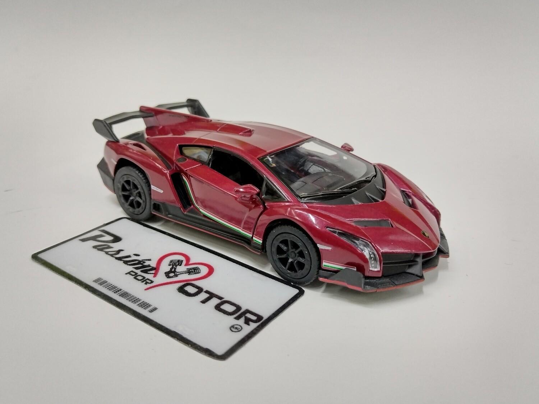 Kinsmart 1:36 Lamborghini Veneno 2013 Vino Coupe Display a Granel 1:32