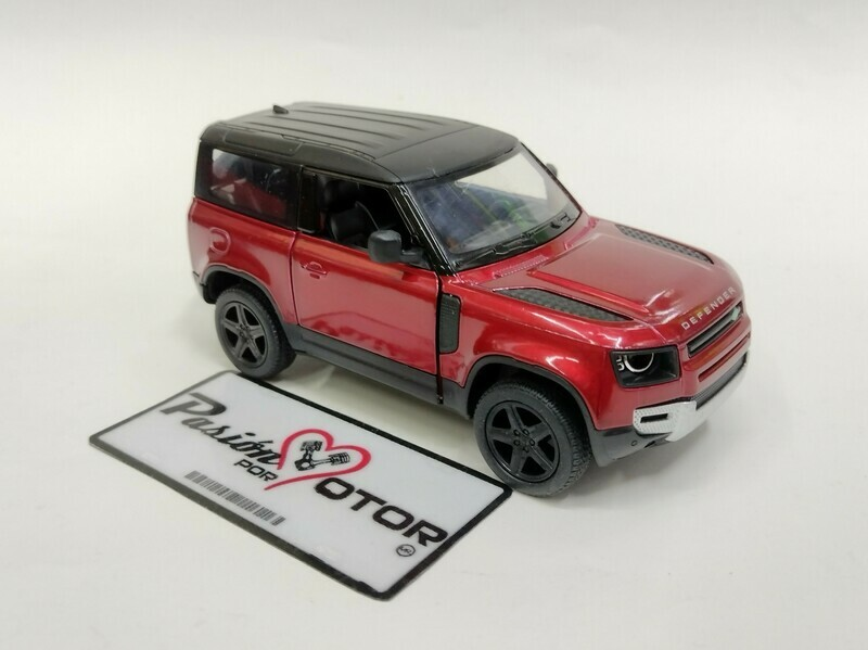 Kinsmart 1:36 Land Rover Defender 90 Suv 2020 Vino Display a Granel 1:32