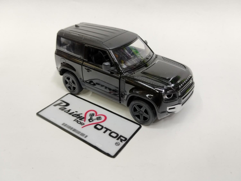 Kinsmart 1:36 Land Rover Defender 90 Suv 2020 Negro Display a Granel 1:32