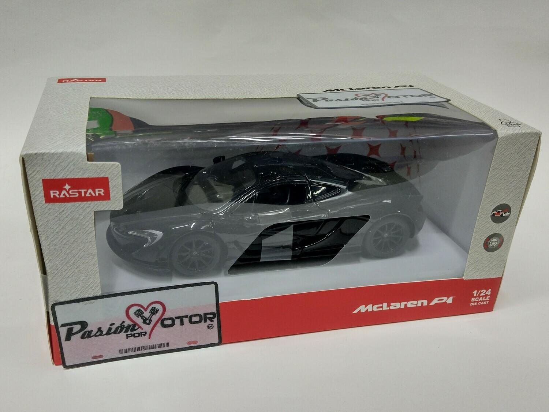 Rastar 1:24 McLaren P1 Coupe 2012 Negro Con Caja