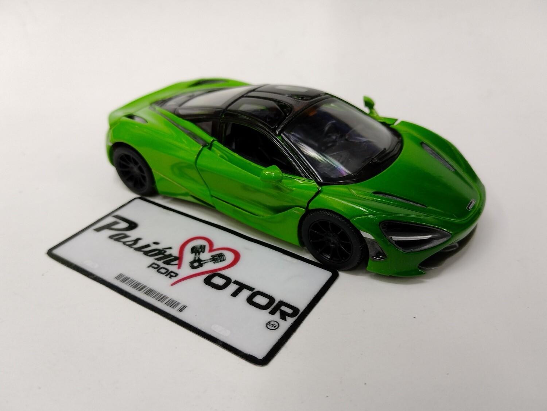 Kinsmart 1:36 McLaren 720S Coupe 2017 MSO Verde Display a Granel 1:32