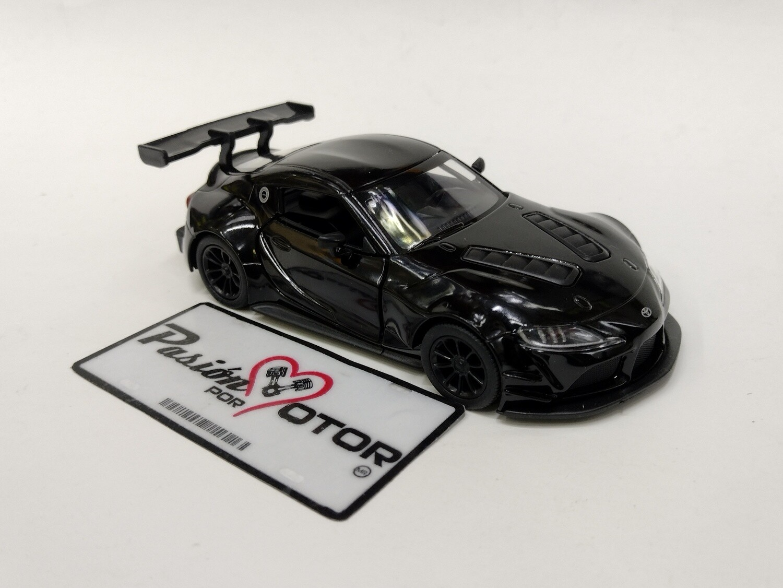Kinsmart 1:36 Toyota GR Supra Racing Concept 2019 Negro Display a Granel  1:32