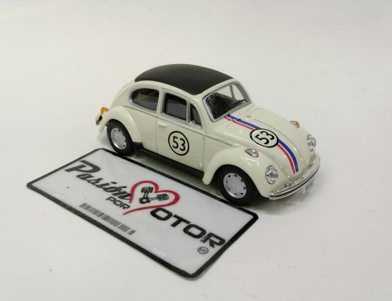Cararama 1:43 Volkswagen Beetle Sedan 1303 1970 Herbie En Caja