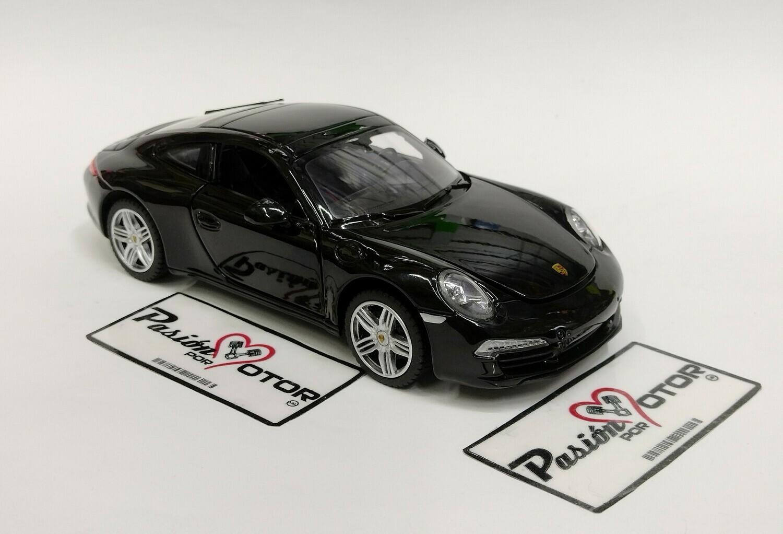 Rastar 1:24 Porsche 911 Coupe Carrera S 2012 Negro Con Caja