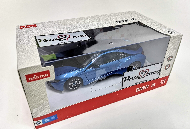 Rastar 1:24 BMW i8 Coupe 2018 Azul Con Caja