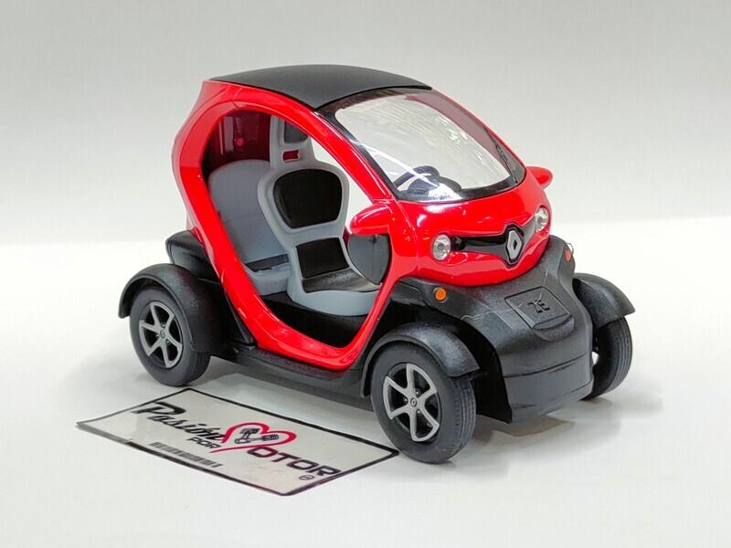 Kinsmart 1:18 Renault Twizy 2011 Rojo Display a Granel