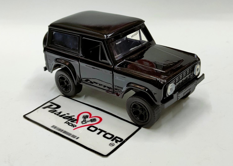 Jada Toys 1:35 Ford Bronco SUV 1973 Negro Just Trucks En Caja 1:32
