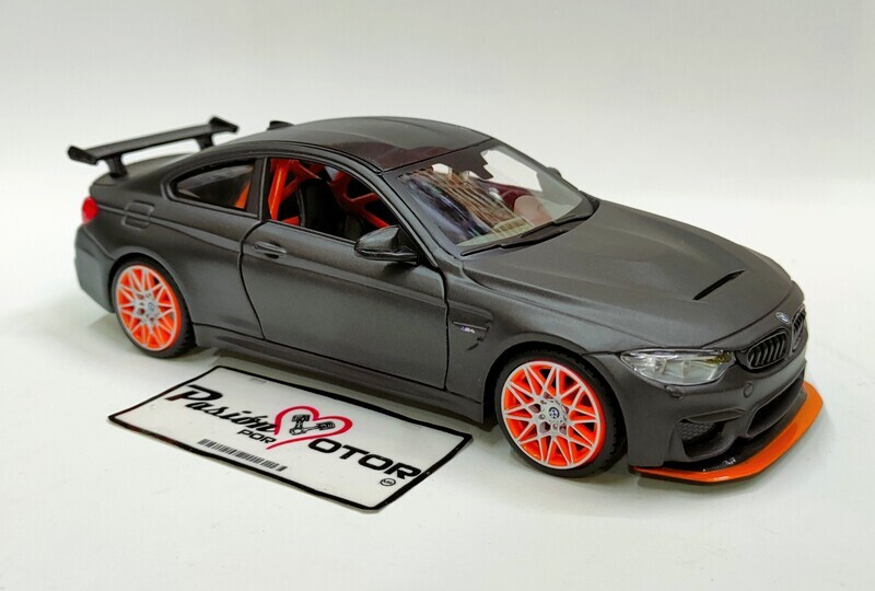 Maisto 1:24 BMW M4 GTS Coupe 2016 Gris Mate Special Edition Display a Granel