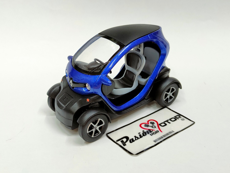 Kinsmart 1:18 Renault Twizy 2011 Azul Display a Granel