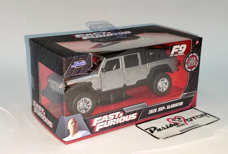 Jada Toys 1:39 Jeep Gladiator Pick Up Tej Parker 2020 Rapido y Furioso 9 En Caja 1:32
