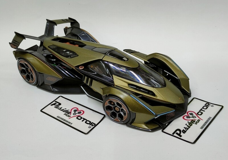 Maisto 1:18 Lamborghini V12 Gran Turismo Coupe 2019 Verde Mate Special EditionCon Caja