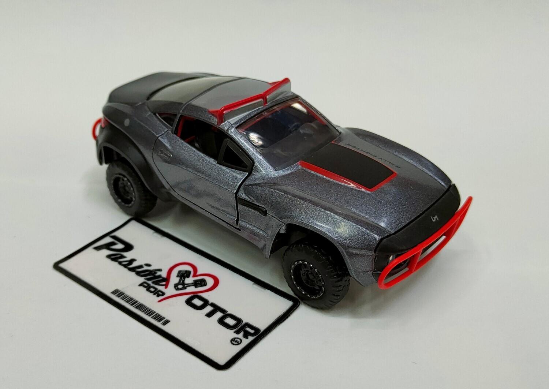 Jada Toys 1:32 Local Motors Rally Fighter Coupe Letty´s 2009 Gris Rapido y Furioso En Caja
