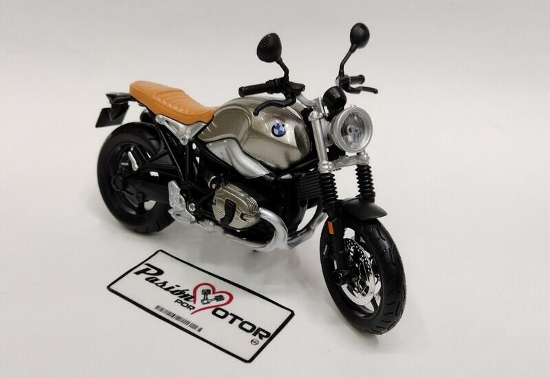 Maisto 1:12 BMW R NineT Scrambler Motocicleta 2017 Gris Motor Cycles Con Caja