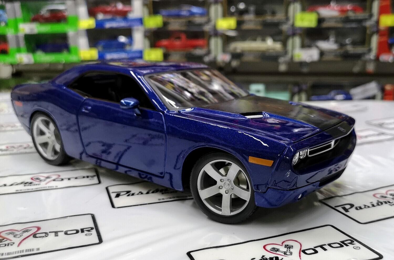 Maisto 1:18 Dodge Challenger Concept Coupe 2006 Azul Marino Special Edition Con Caja
