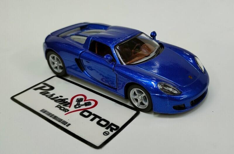 Kinsmart 1:36 Porsche Carrera GT Targa 2003 Azul Display a Granel 1:32