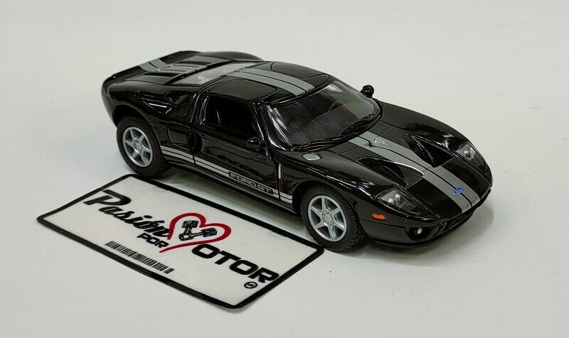Kinsmart 1:36 Ford GT Coupe 2006 Negro Display a Granel 1:32