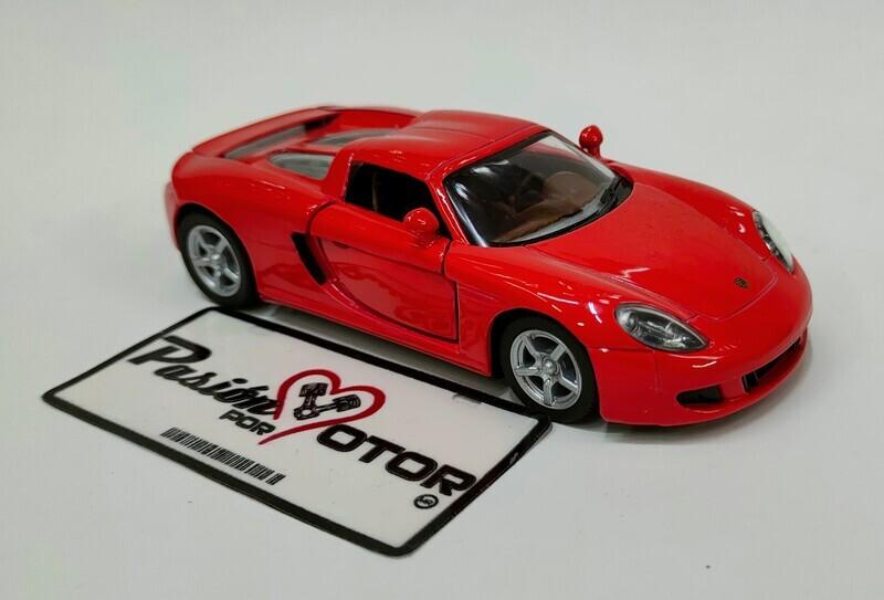 Kinsmart 1:36 Porsche Carrera GT Targa 2003 Rojo Display a Granel 1:32