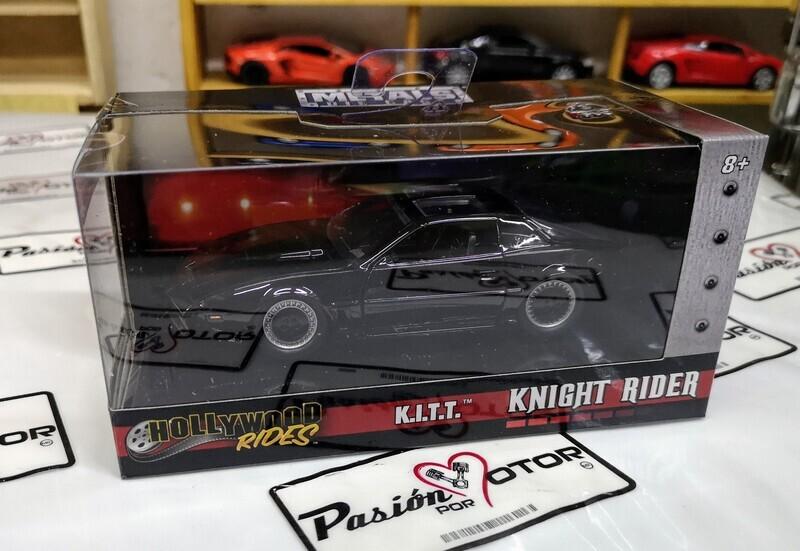1:32 Pontiac Firebird Trans Am 1982 KITT Knight Rider Auto Increible Jada Toys Hollywood Rides Con Caja