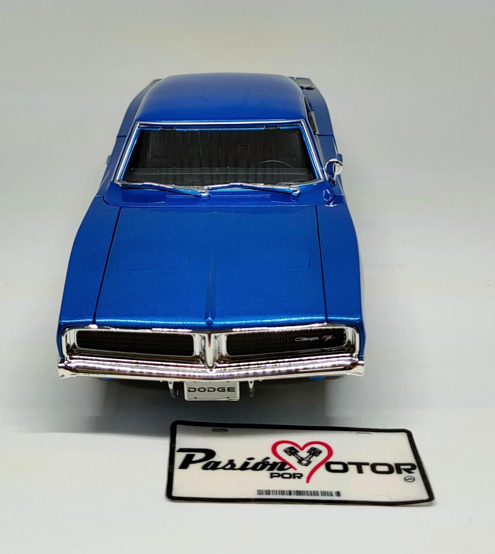 Maisto 1:18 Dodge Charger R/T Coupe 1969 Azul Special Edition Con Caja