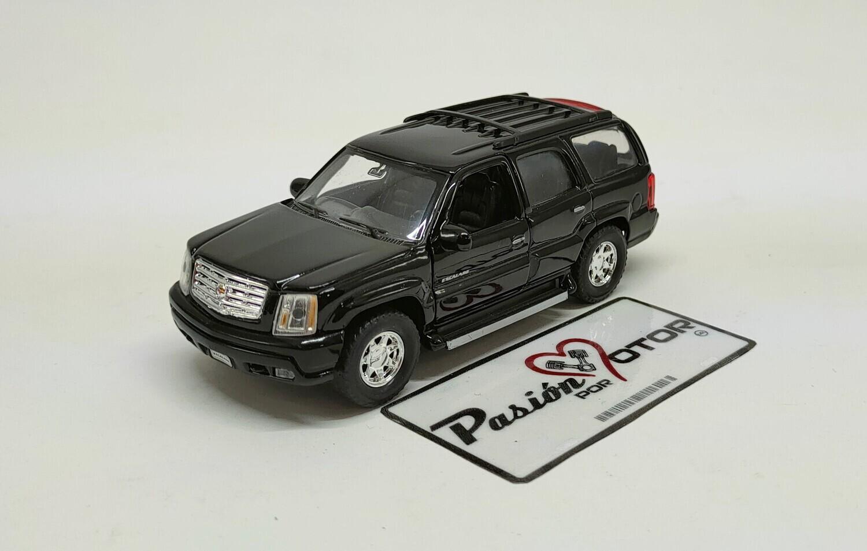 Welly 1:43 Cadillac Escalade SUV 2002 Negro Nex Display a Granel