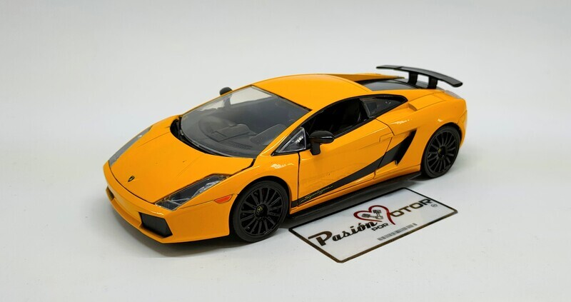 1:24 Lamborghini Gallardo Superleggera Coupe 2008 Amarillo Jada Toys Rapido y Furioso 6 Con Caja