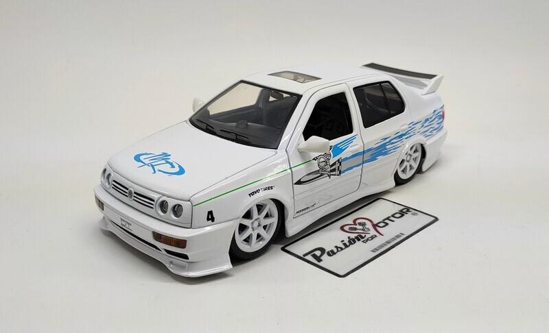 1:24 Volkswagen Jetta A3 1995 Jesse Rapido Y Furioso Jada Toys C Caja