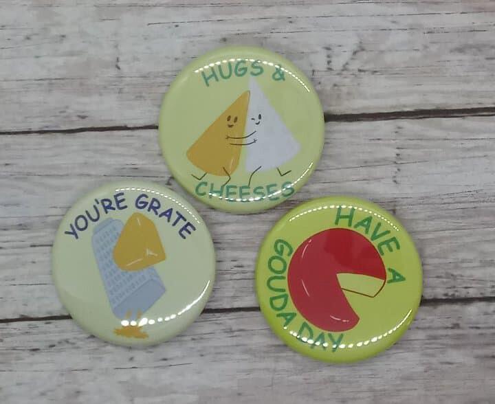Cheesy Button 3pk