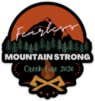 Creek Fire Relief Sticker