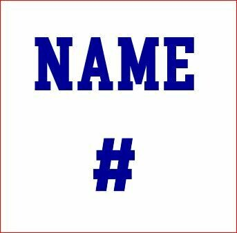 Add a Name & Number