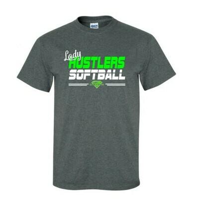 Grey Lady Hustlers Softball Cotton Tee