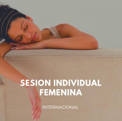 SESION INDIVIDUAL / acompañamiento femenino con Caro