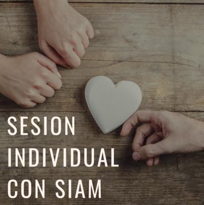 SESION INDIVIDUAL / con Siam