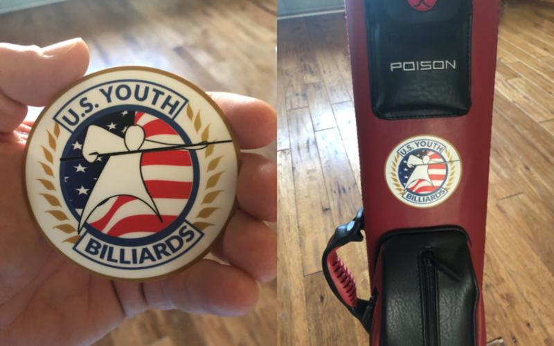 U.S. Youth Billiards Sticker