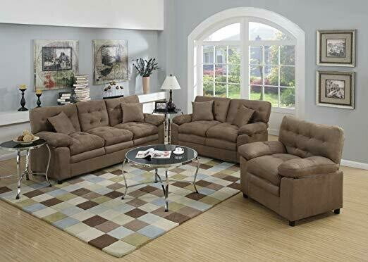 SOFA , LOVE SEAT & CHAIR SET
