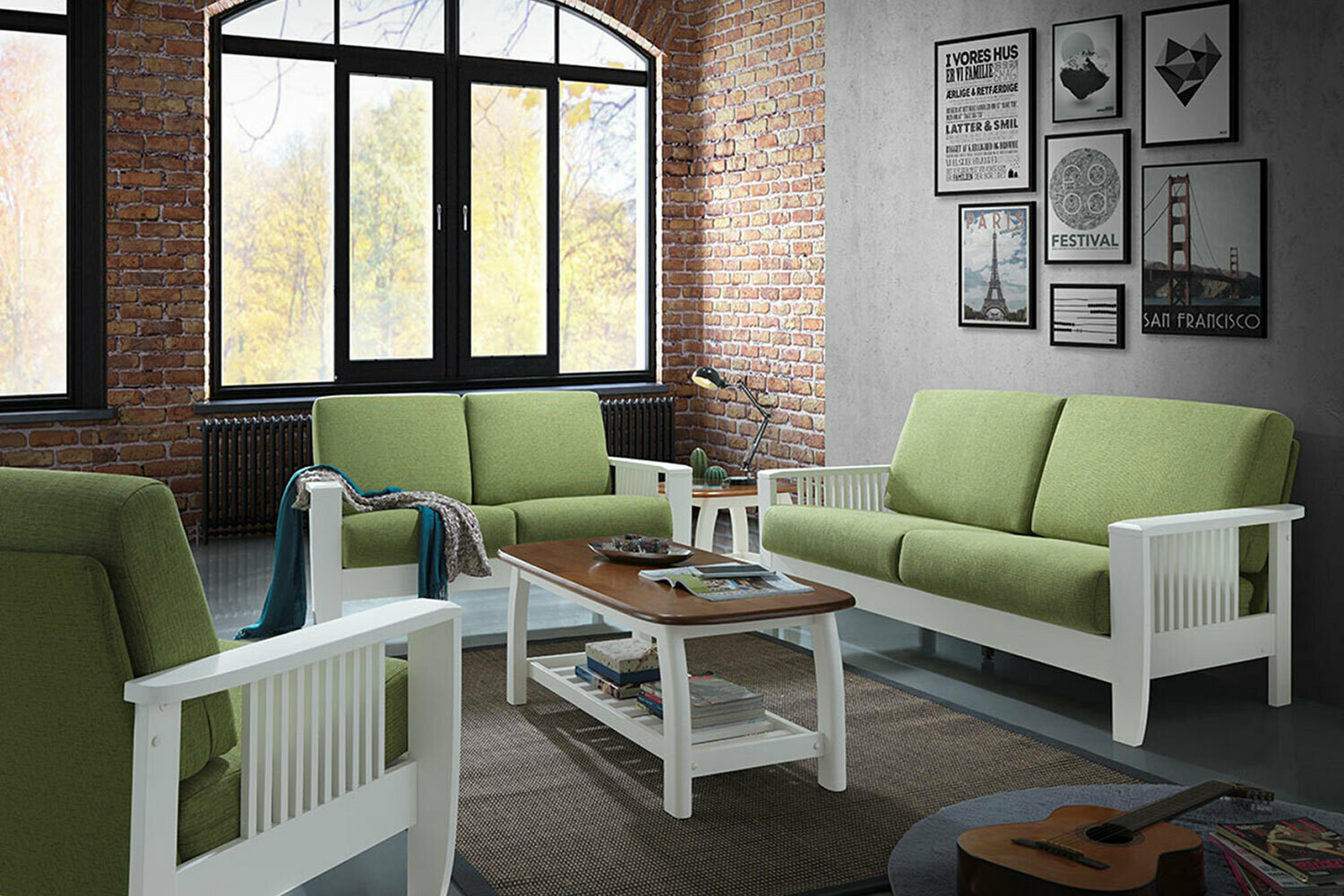 SOFA SET ( 3 PC )