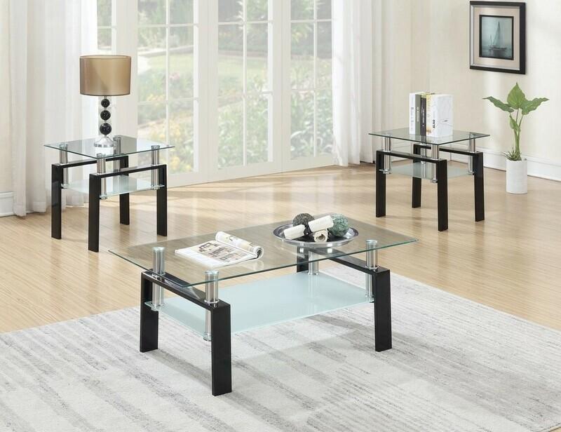 3-PC COFFEE TABLE SET