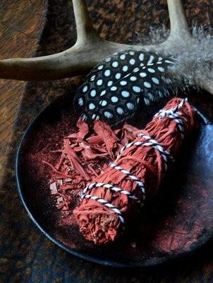 Smudge Sangue di Drago e Salvia Bianca 12 Cm 1Pz